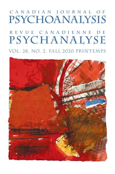 Canadian Journal Of Psychoanalysis